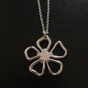 Tiffany & Co. sterling silver flower necklace